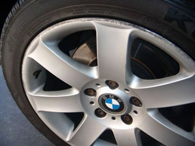 Alloy wheel repairs Fareham